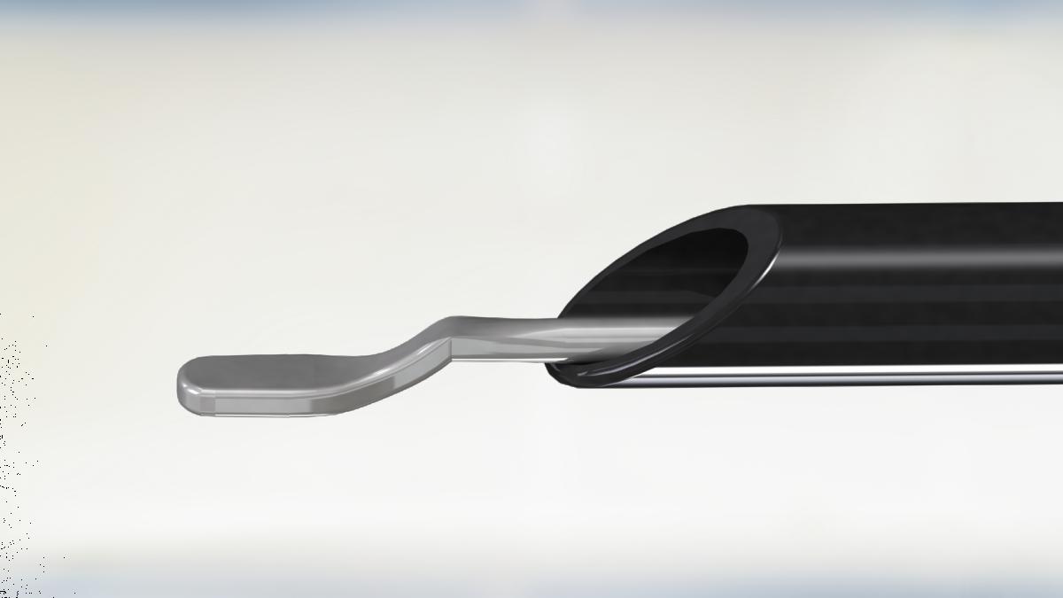 Лапароскопический электрод шпатель