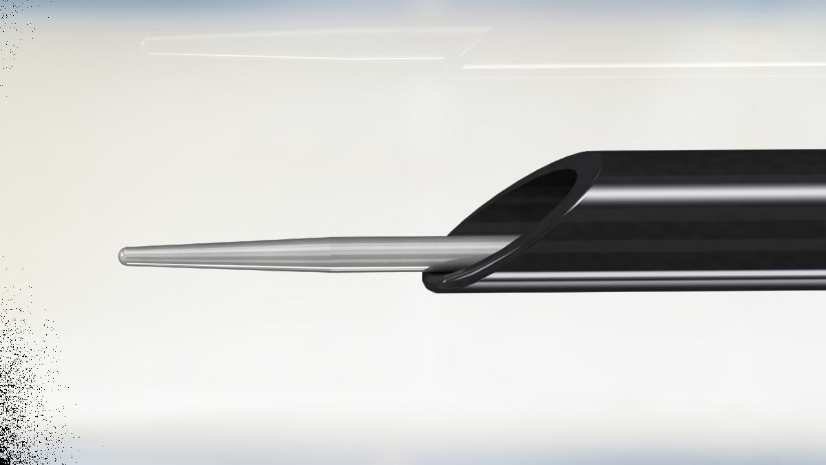 Лапароскопический электрод игла