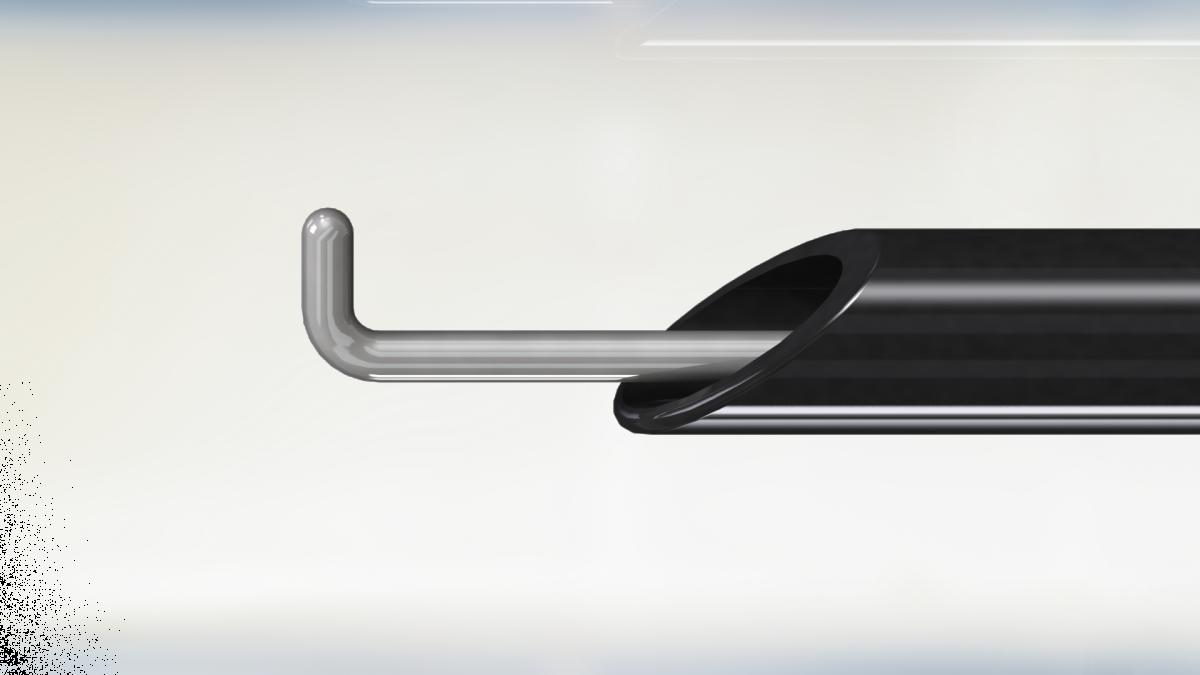 Лапароскопический электрод крючок тонкий